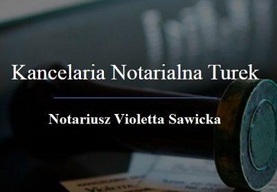 Kancelaria Notarialna Violetta Sawicka
